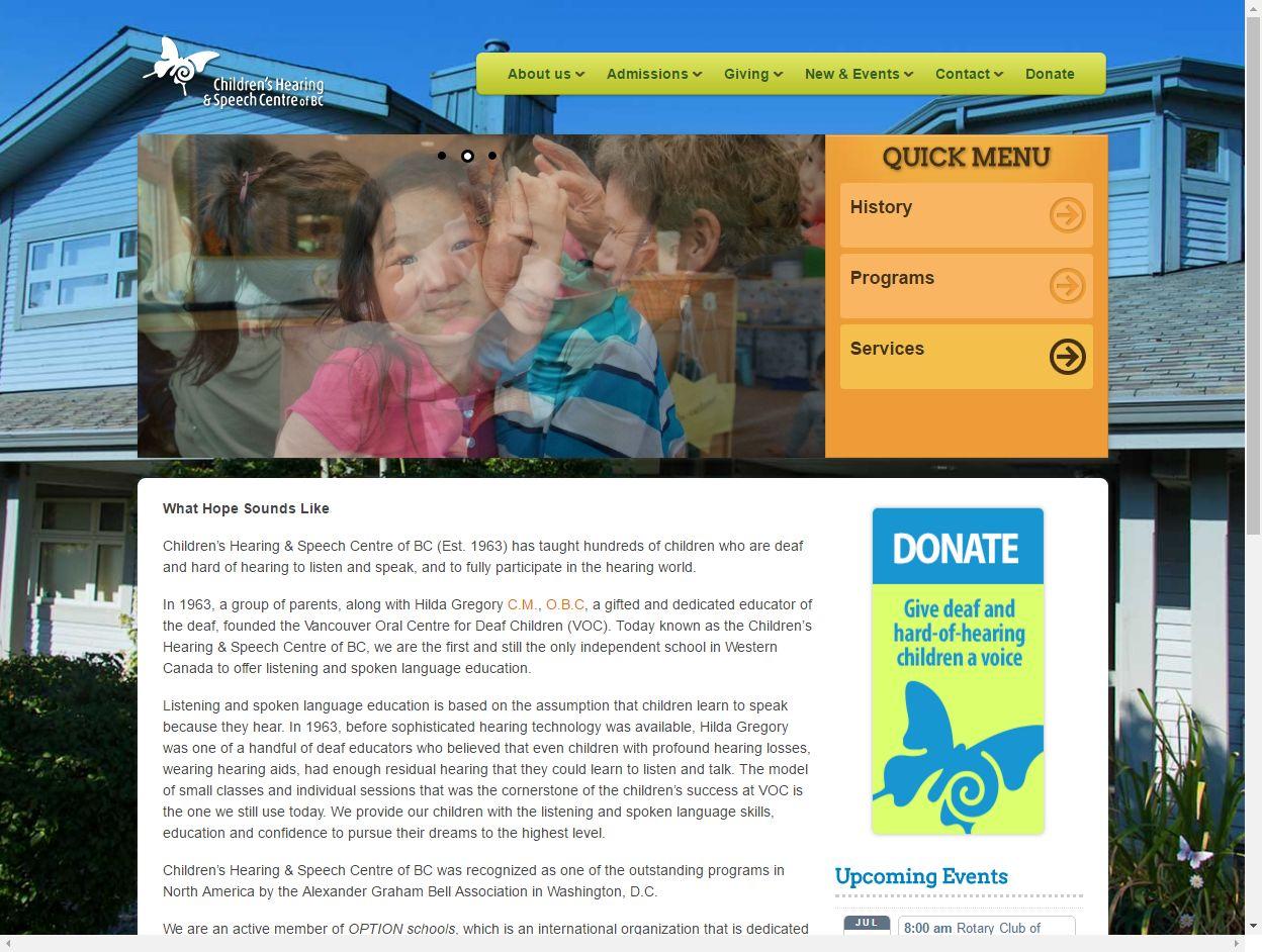 Children's Hearing & Speech Centre Of BC Childrenshearing C03221