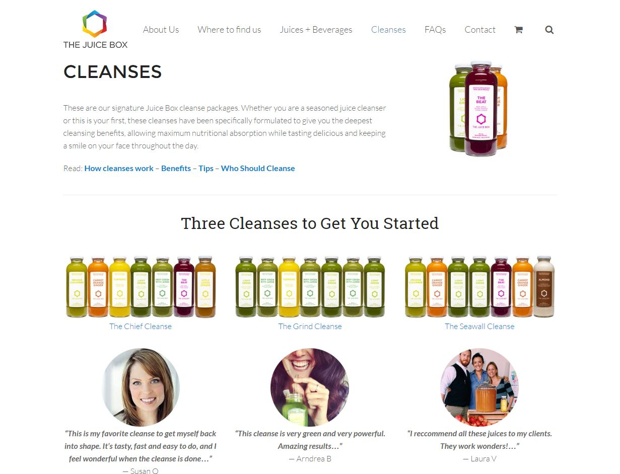 'Cleanses – The Juicebox' – Www Thejuicebox Ca Cleanse00354