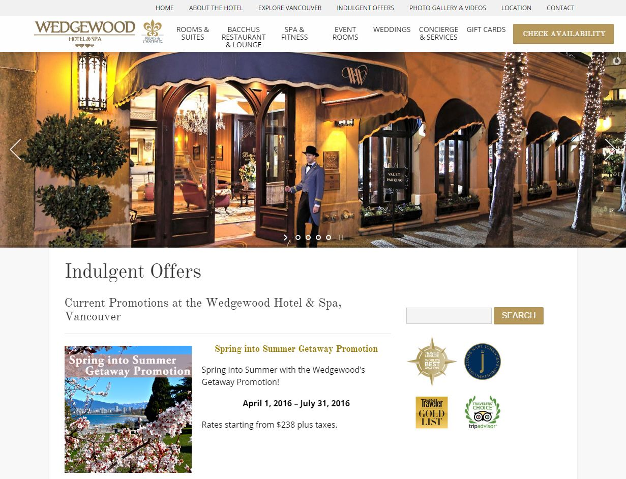 Indulgent Offers I Wedgewood Hotel Vancouver Www Wedgewoodhotel Com Indulgent Offer01928