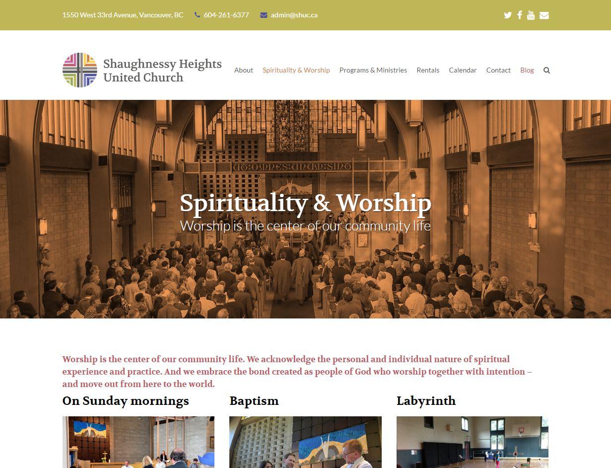 Spirituality & Worship – SHUC Www Shuc Ca Spirituality Worshi03726