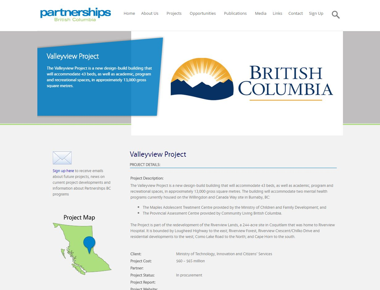 Valleyview Project – Partnerships BC Www Partnershipsbc Ca Projects Announced In Procurement Valleyview Projec02622