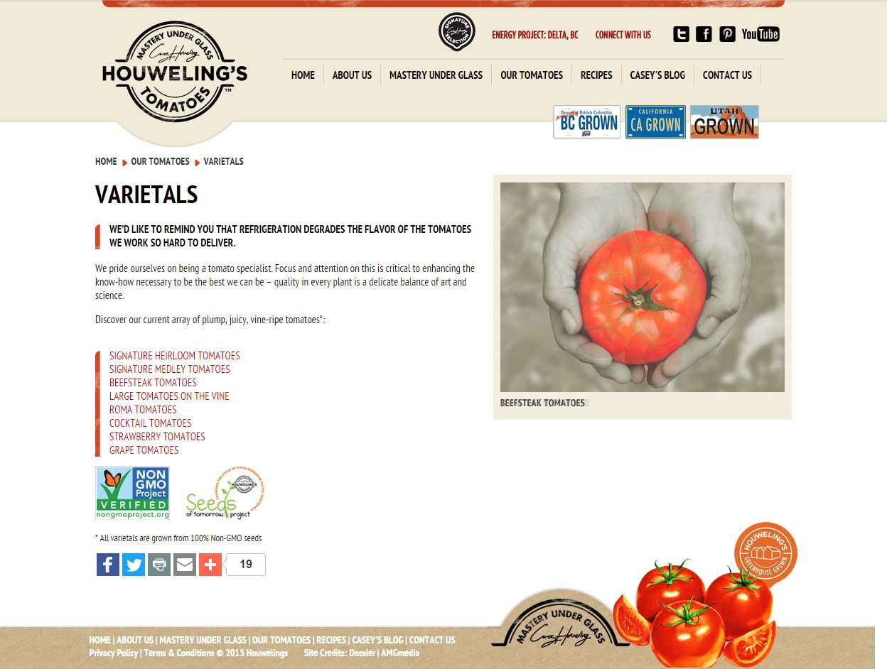 Varietals I Our Tomatoes I Welcome To Houweling's Www Houwelings Com Files 2 Our Tomatoes P02842