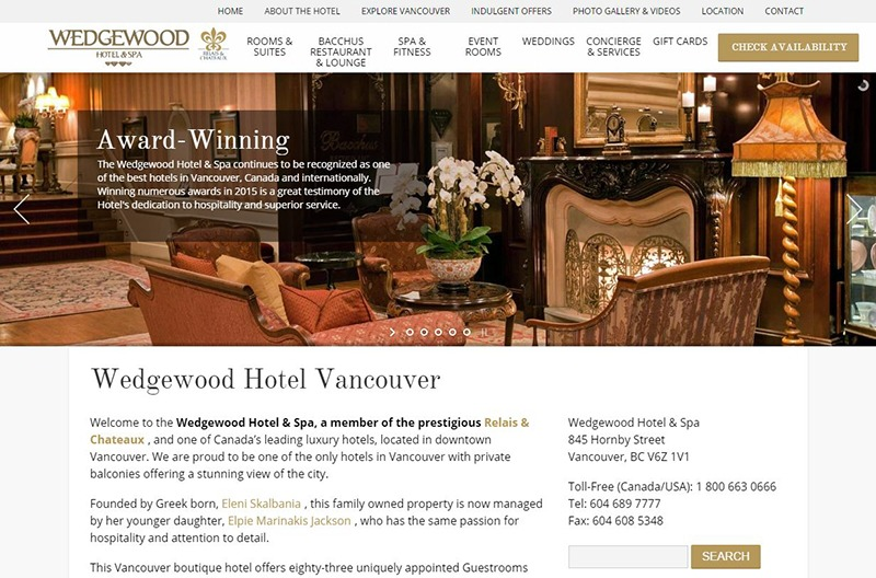 Wedgewood Hotel and Spa